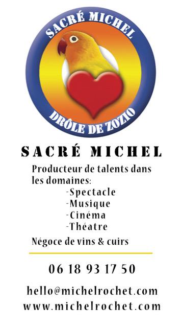 Carte de visite Sacré Michel