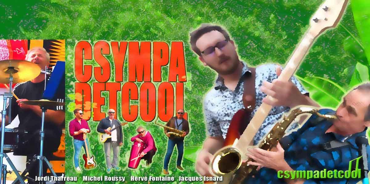 csympadetcool, groupe musical, nous sommes un groupe de la vallée d'Ossau, situé dans les Pyrénées Atlantiques. Tous nos morceaux sont des compositions originales, ouvertes à tous publics. Un style rock, un peu roots parfois mandingue, une touche de blues, un zest de reggae.