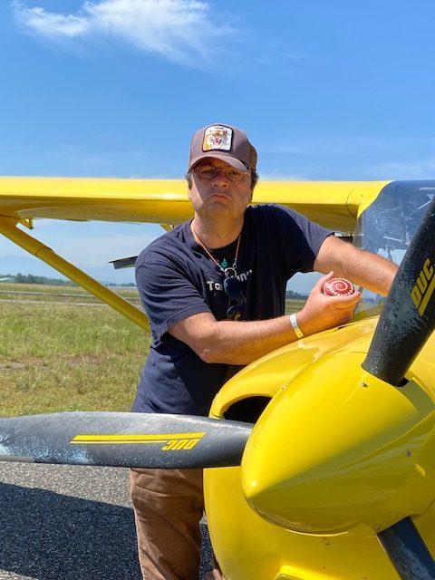 Michel Rochet aviator rotated